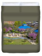 Spring Coolidge Park 2 Duvet Cover