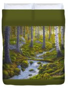 Spring Creek Duvet Cover