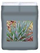 Spring Daffodil Plant Duvet Cover