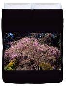 Spring Day In Park Duvet Cover