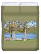 Spring Fed Shepherd Lake Duvet Cover