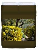 Spring Flora Duvet Cover