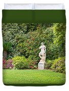 Spring Flower Blooms At The North Vista Lawn Of The Huntington Library. Duvet Cover