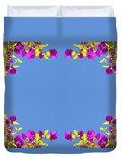 Spring Flower Frame Duvet Cover