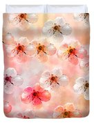 Spring Flowers Abstract 5 Duvet Cover