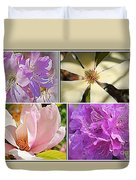 Springtime Blossoms Duvet Cover