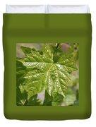 Spring Grape Leaf Duvet Cover