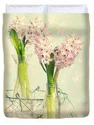 Spring Hyacinths Duvet Cover