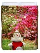 Spring Hydrant Duvet Cover