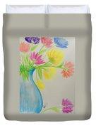 Spring In A Vase Duvet Cover
