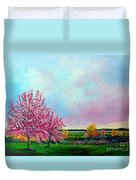 Spring In Bloom Duvet Cover