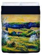 Spring In Matagne  Duvet Cover