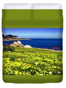 Spring In Pacific Grove Ca Duvet Cover