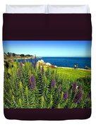 Spring In Pacific Grove Ca Two Duvet Cover