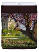 Spring In Paris Duvet Cover