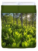 Spring In The Wasatch Duvet Cover
