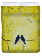 Spring Is A Time Of Love Duvet Cover
