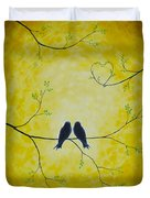 Spring Is A Time Of Love Duvet Cover by Veikko Suikkanen