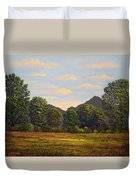 Spring Meadow At Sutter Buttes Duvet Cover