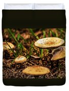 Spring Mushrooms Duvet Cover