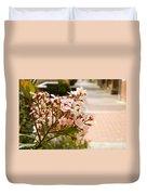 Spring On The Street Duvet Cover