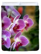Spring Orchids I Duvet Cover