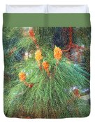 Spring Pine Duvet Cover