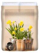 Spring Planting Duvet Cover
