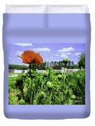 Spring Poppies Duvet Cover