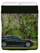 Spring Porsche Duvet Cover