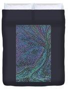 Spring Rain Tree Duvet Cover