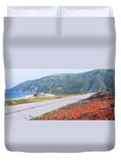 Spring, Route 1, California Coast Duvet Cover