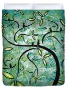 Spring Shine By Madart Duvet Cover