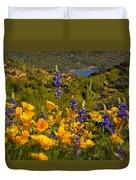 Spring Southwest Style  Duvet Cover