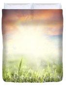 Spring Sun Duvet Cover