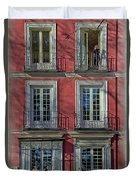 Spring Sunshine In Madrid Duvet Cover