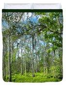 Spring Swamp Duvet Cover