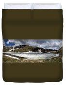Mountain Lake Spring Thaw Duvet Cover