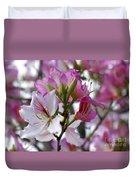 Spring Tree Blossoms Duvet Cover