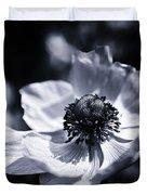 Spring White Dancing Duvet Cover