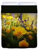 Spring Wildflowers Duvet Cover