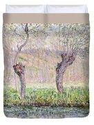 Spring Willows Duvet Cover