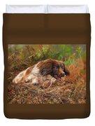 Springer Spaniel 2 Duvet Cover