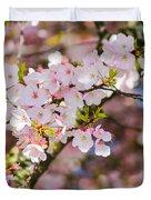 Spring's First Blush Duvet Cover
