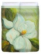 Spring's First Magnolia 2 Duvet Cover