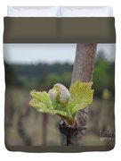 Spring In The Vineyard Duvet Cover