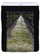 Springtime In The Vineyards Duvet Cover