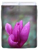 Springtime Magnolia Blossom Duvet Cover