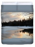 Springtime Reflection Duvet Cover