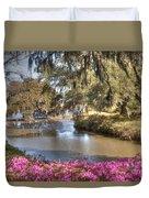 Springtime View Duvet Cover